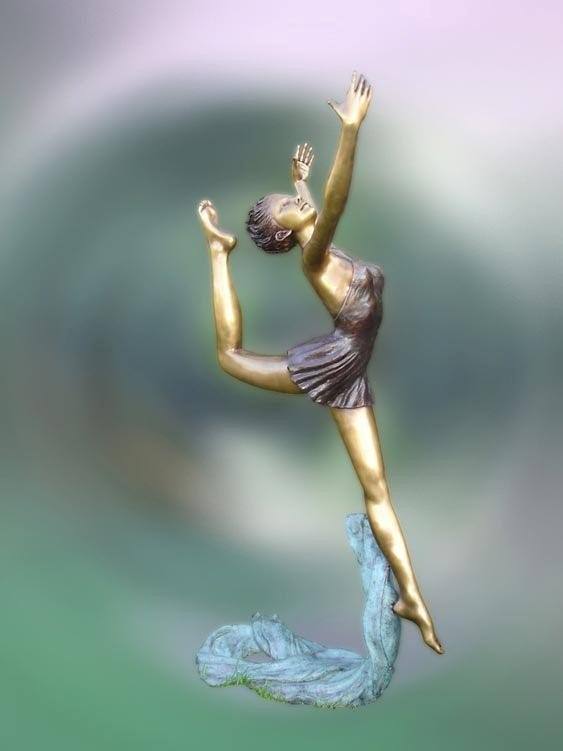Bronze Life Size Ballet Dancer