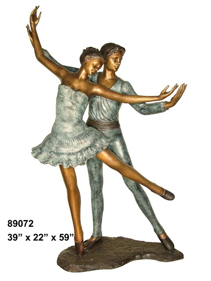 Bronze Pair of Dancers