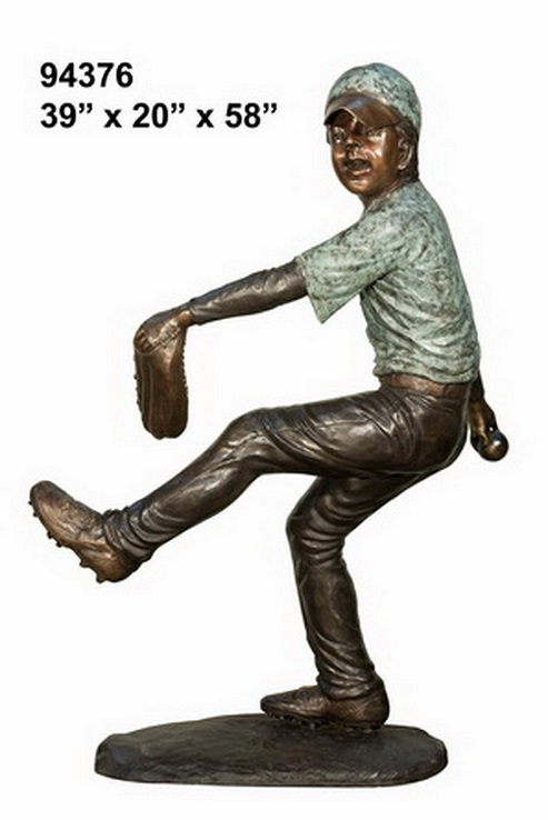 Bronze Pitcher Statue