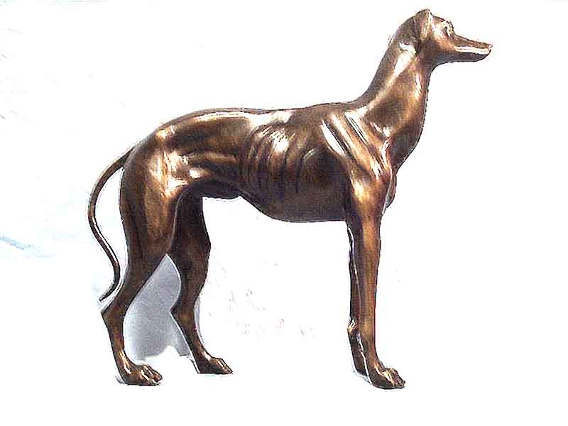 Small Bronze Greyhound