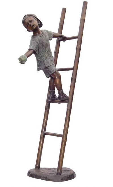 Boy on Ladder