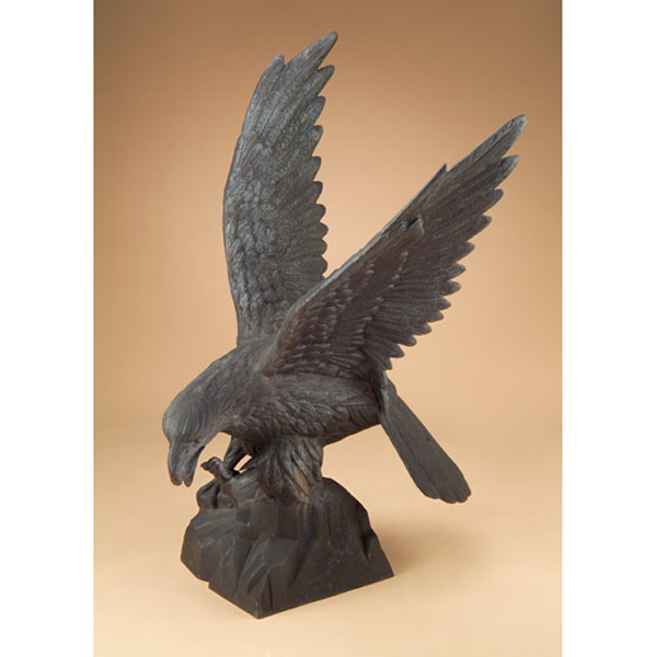 Large Cast Iron Eagle