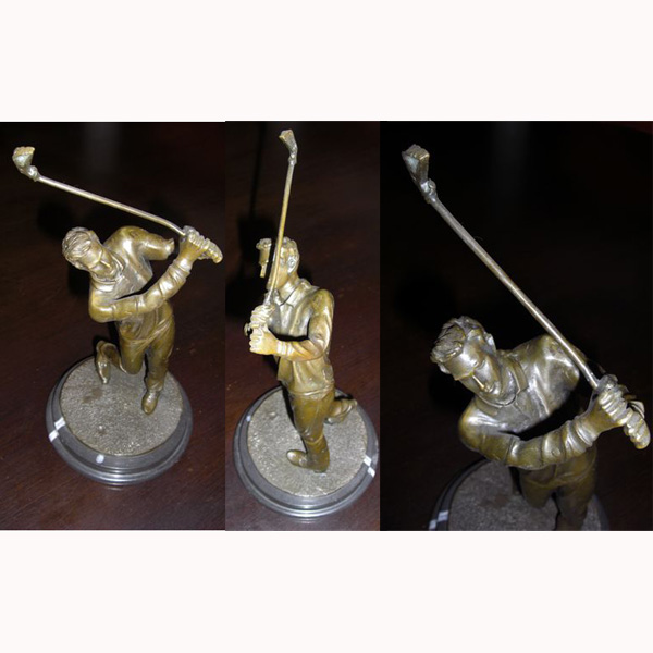 Bronze Small Golfer