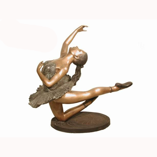 Bronze Ballerina Table Base