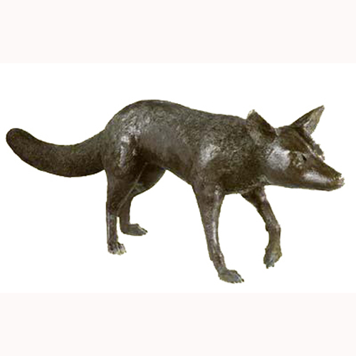 Bronze Prowling Fox