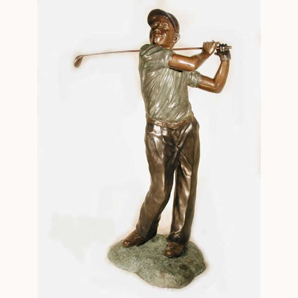 Bronze Golfer ( full swing )