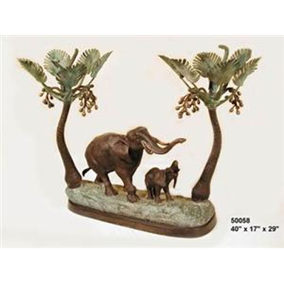 Bronze Elephant Oasis Table Bottom