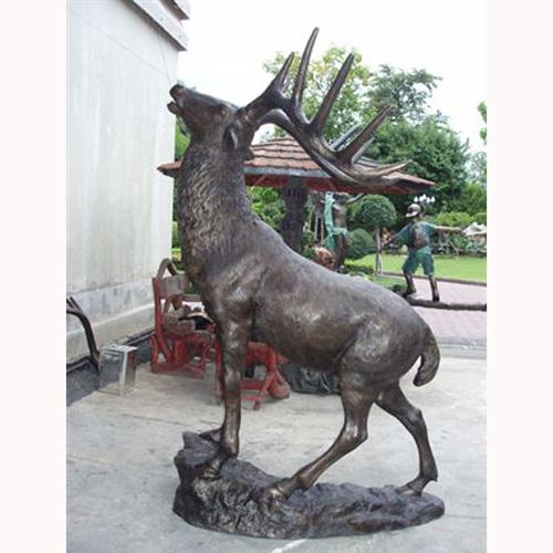 Bronze Elk Statue brass elk statues life size bronze  bronze eagle bronze raven