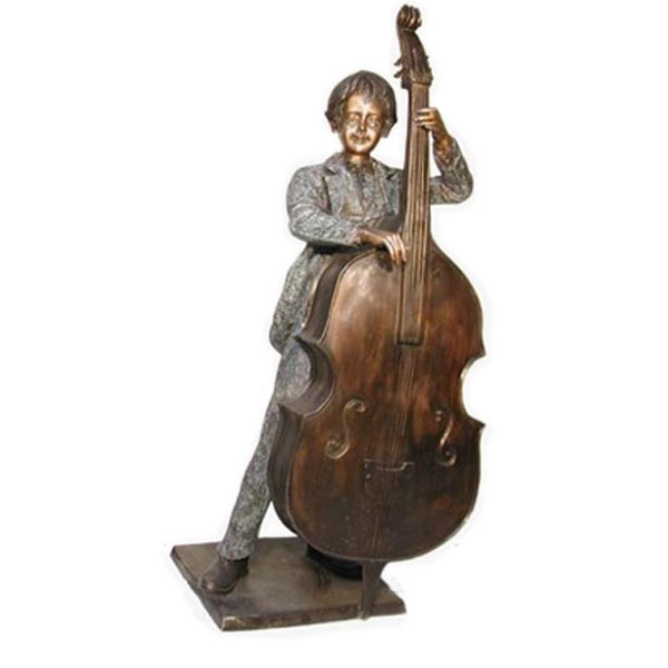 Bronze Boy with Cello