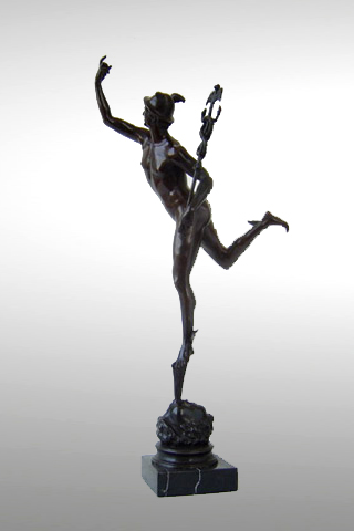 Bronze Statue of Mercury
