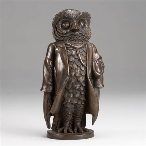 Bronze Mr. Owl