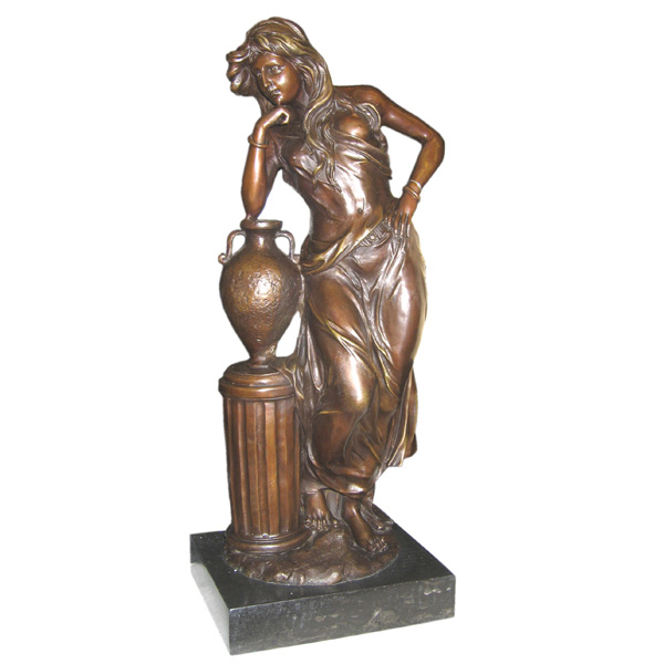 Bronze Standing Lady