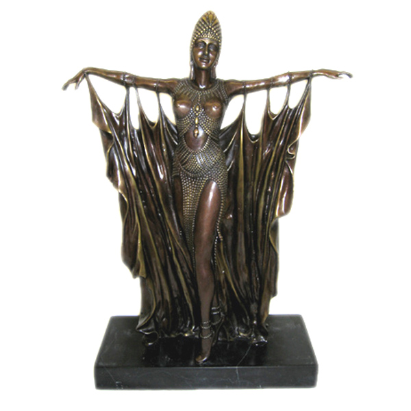 Bronze Veil Dancer