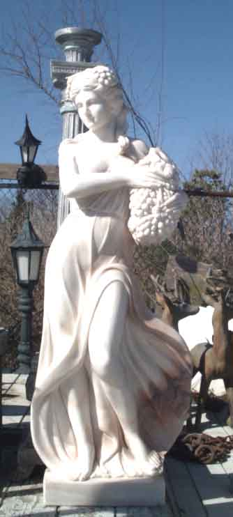 Marble sculpture of women