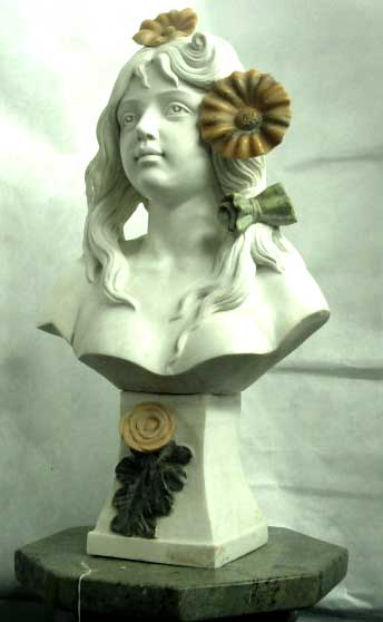 Marble Lady Bust