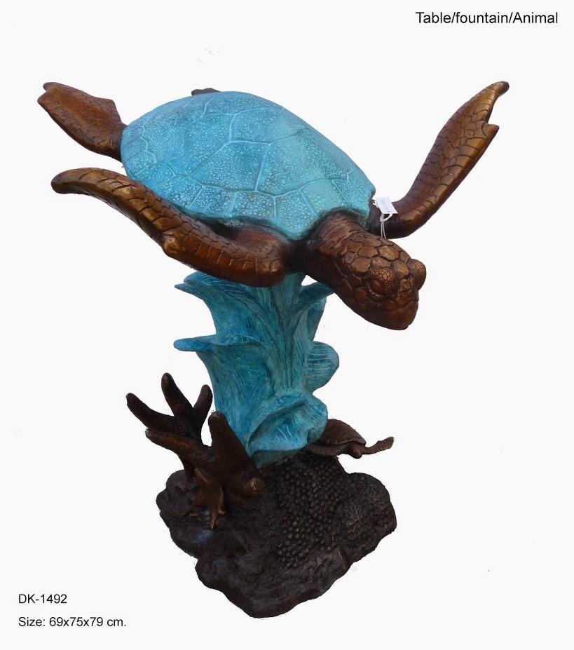 Turtle Fountain D 1492k 1 799 99 Bronze Statues Aniamls